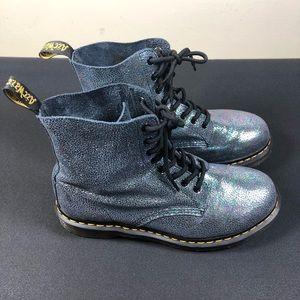 Dr Martens Pascal Rainbow Glitter Boots.
